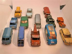 Matchbox Lesney 1-75 Series lot of 13 vehicles
