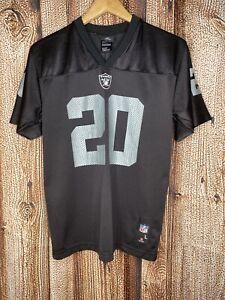 Darren McFadden #20 Oakland Raiders Youth Football Jersey Size L Nike NFL