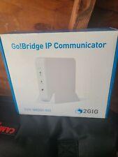 NEW IN BOX 2 GIG-BRDG1-900 GO BRIDGE IP COMMUNICATOR
