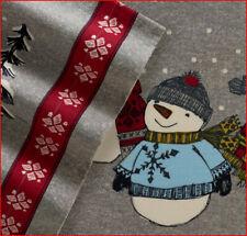 Cuddl Duds Heavy Weight 100% Cotton FLANNEL Sheet Set  - SNOWMAN Snowmen 🌟NEW🌟