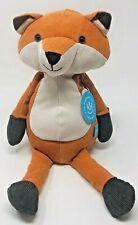 """Manhattan Toy Company Orange PLUSH Folksy Foresters FOX 14"""" Stuffed Animal Toy"""
