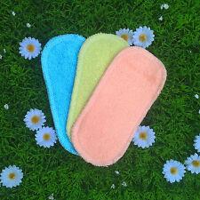 Protège slip lavable bambou couleur modèle mini (lot de 3)