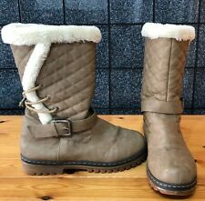 ladies size 7 boots ,👢in Nice Clean Condition,,Fur Lined