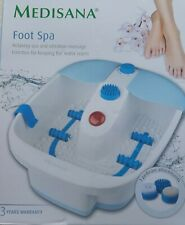 Medisana Vibration Massage Foot Spa.(Brand New).