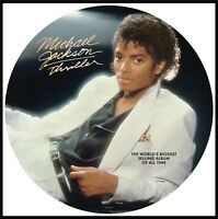 """Michael Jackson """"thriller"""" Picture Vinyl LP NEU 2018 Re-Issue"""