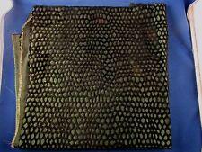 ancien coupon tissus  soierie et velours epoque art deco antique fabric 13