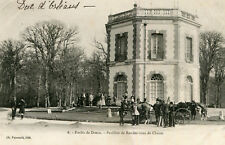 Forêt de DREUX Pavillon de Rendez Vous de Chasse Cheval Costume de chasseur