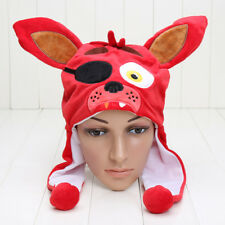 FNAF plush Hat cap Five Nights At Freddy's Beanie Hat Winter for Kids-Brand New!