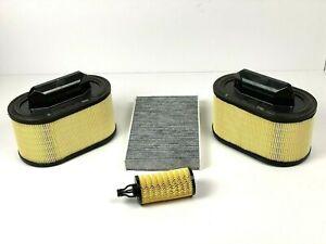 Maserati Ghibli, Quattroporte & levante Oil, Air & Cabin Pollen Filter