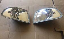 Honda Civic Eg 92-95 3 Door Front Headlight Crystal Corner Lights Pair