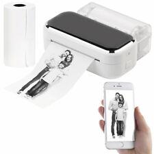 Drucker: Mobiler XL Akku-Foto-Thermodrucker, Android, iOS, Bluetooth, App, 80mm