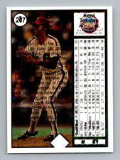 Kent Tekulve David West 1989 Upper Deck Freak Overprint Error Phillies Mets