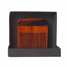 Beard Gains Two Tone High Gloss Wedge Beard Comb | Perfect Bearded Mens Gift