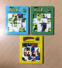 3 SUPER-HERO SLIDING PUZZLES - HULK / SUPERMAN