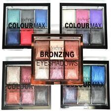 Technic Colour Max 6 Baked Eyeshadow Bronzing Palette Pallet Eyes Make Up Set