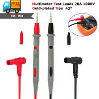 Universal Digital Multimeter Multi Meter Test Lead Probe Wire Pen Cable 1000V20A