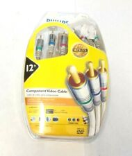 Philips M62796 Component Video Cable 24k Gold, 12 feet