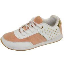 Zapatillas deportivas de mujer de color principal blanco sintético