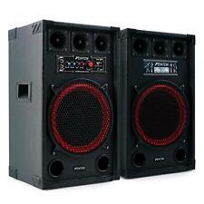 SET PA ALTAVOCES/CAJA ACUSTICA/BAFLES ACTIVO PASIVO 800W SUBWOOFER DJ -B-STOCK