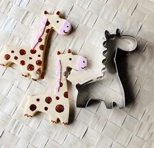 1Tier Giraffe Cookie Form Cutter Gebäck Brot Schimmel Ausstecher Ausstechform