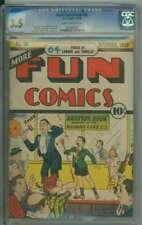 MORE FUN COMICS #36 CGC 3.5 SB PAGES