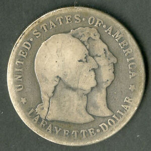 US Coin 1900 Silver Lafayette Dollar NO RESERVE!