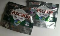 Cascade Platinum with Dawn Fresh Scent No Pre Wash Actionpac 2 Pack 8 Pods Total