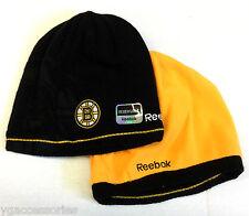 NHL Boston Bruins Reversible Reebok Knit Hat NEW!