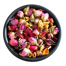 Dried Rose Buds MIX-  Dried Flowers Petals Tea Infusion Craft Soap Candle Decor