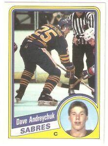 #17 Dave Andreychuk - Buffalo Sabres 1984-85 O-Pee-Chee RC