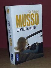 Guillaume Musso La Fille De Papier (Pocket N° 14671) 2013