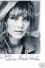 Amanda Redman British Actress New Tricks  Hand signed  Photograph 6 x 4  & Note