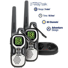 Uniden Twin Pack UHF 1 Watt CB Handheld 2-Way radio - 80 UHF Channels