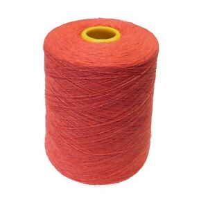 PURE CASHMERE YARN 2/36 Nm 2-ply - 100g cones of Pomegranate - Spun UK