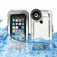 40M/130FT Waterproof Underwater Diving Photo Housing Case Cover for iPhone 5 5SE
