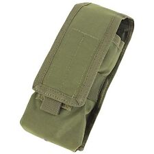 Condor OD Green MA9 MOLLE PALS L or R Antenna Radio Walkie Talkie Pouch Holster