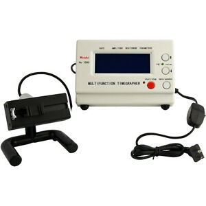 Timegrapher Watch Timing Machine Multifunction Tester NO.1000 CE