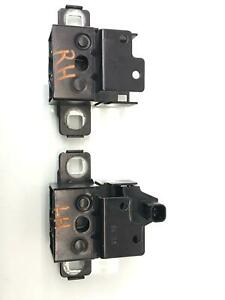 2014 - 2020 JAGUAR F-TYPE LEFT AND RIGHT FRONT HOOD LOCK LATCH SET 2W9319A434