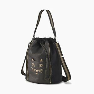 New Charlotte Olympia X Puma Large Kitty Bag