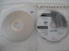 Jaguar XF XK XKR Navigation DVD 6W83-BD Map © 2007 Edition 2008 West US + Canada