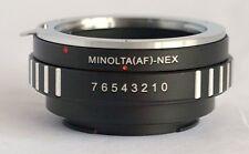 Sony Alpha  Minolta AF Lens to Sony E Mount Adapter for NEX NEX-5 NEX-7 MA-NEX