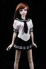 [wamami] 251# Black Sailor Uniform Dress/Suit/Outfit 1/4 MSD AOD DOD BJD Dollfie