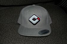 ODI Snap Back HAT ODI Logo Heather Gray Adjustable For Watercraft BMX ATV Riders