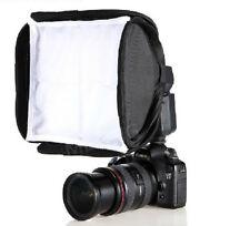 mini Soft Box Kit Softbox for Canon Nikon Flash Speedlite Flash Light