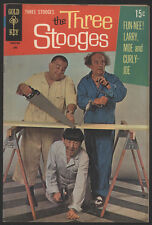 The THREE STOOGES #43, 1969, Gold Key Comics - VG+