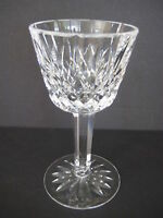 "WATERFORD IRISH CRYSTAL LISMORE WINE GOBLET, 5 1/8"" TALL X 2 1/2"" DIAMETER"