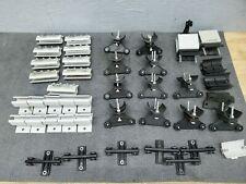 Large Lot Of Aero Motive Box Track Crane Cable Festoon System Trolley Hangers