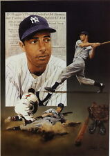 "031 Joe DiMaggio - The Yankee Clipper MLB Center Fielder 14""x20"" Poster"