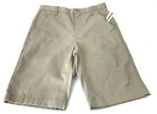 Nwt Old Navy Boys Size 12 Uniform Shorts Khaki Tan Chino Shorts Adjustable Waist