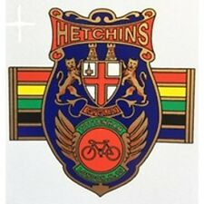 HETCHINS Headbadge with Olympic bands